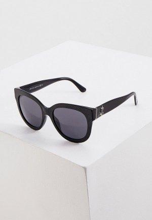 Очки солнцезащитные Jimmy Choo JILL/G/S DXF. Цвет: черный