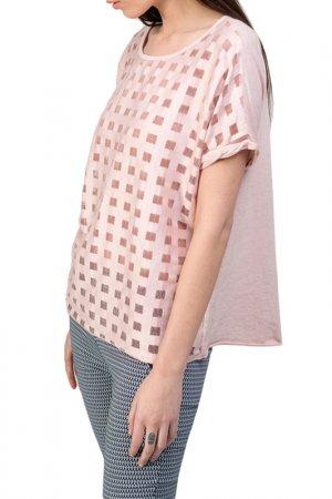 T-Shirt DIOXIDE. Цвет: pink