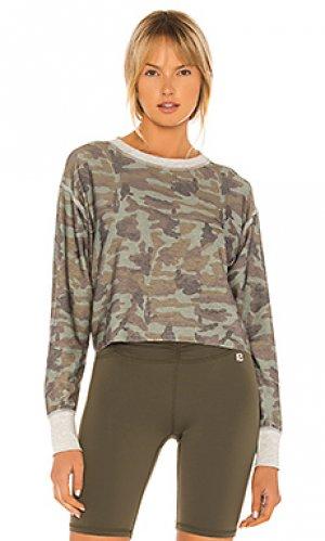Пуловер rori Body Language. Цвет: зеленый