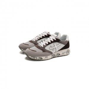 Комбинированные кроссовки Zac-zac Premiata. Цвет: коричневый