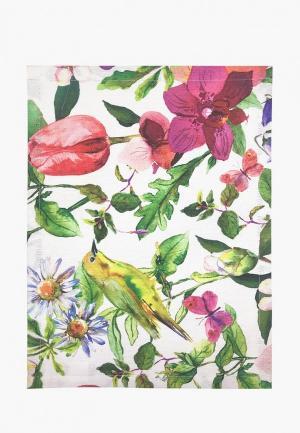 Салфетка сервировочная Altali Колибри. Цвет: разноцветный