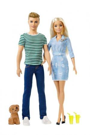 И Кен на прогулке Barbie. Цвет: мультицвет, бежевый