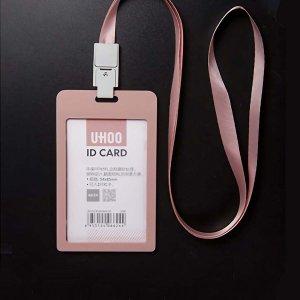 Держатель для визитной карточки 1шт SHEIN. Цвет: розовые