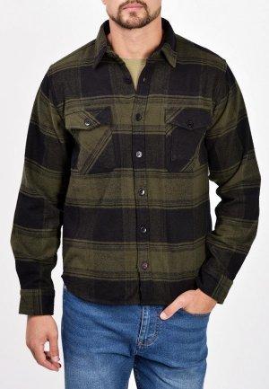 Рубашка Mavango. Цвет: хаки