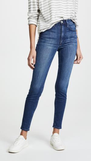High Rise Newton Skinny Jeans McGuire Denim