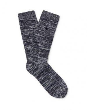 Короткие носки FOLK. Цвет: темно-синий