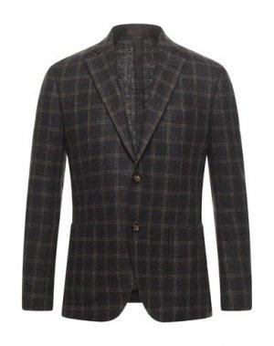 Пиджак ANDREA BARBERI. Цвет: стальной серый