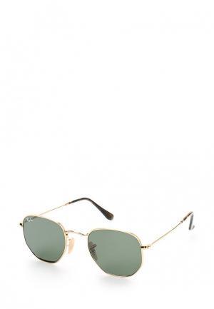 Очки солнцезащитные Ray-Ban® RB3548N 001. Цвет: золотой