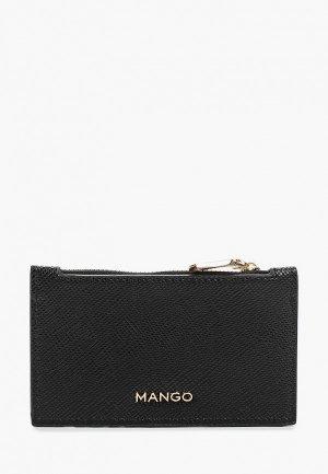 Визитница Mango M BRAIS. Цвет: черный