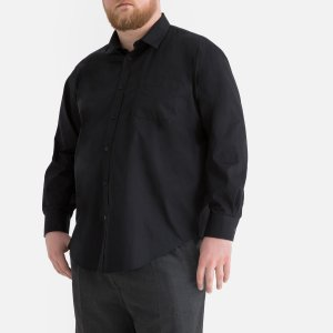 Рубашка La Redoute. Цвет: черный