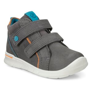 Ботинки FIRST ECCO. Цвет: серый