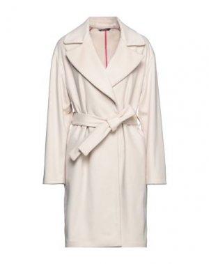 Пальто FEDERICA GARONI. Цвет: бежевый