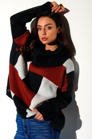 Sweater Lemoniade. Цвет: black, red, white