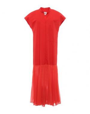Платье длиной 3/4 ATTIC AND BARN. Цвет: красный
