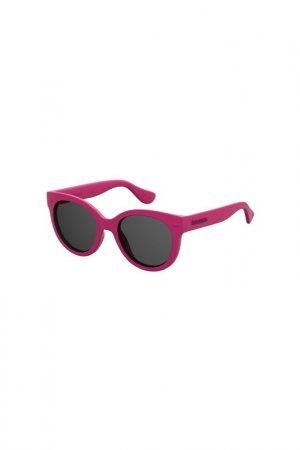 Солнцезащитные очки Havaianas. Цвет: розовый