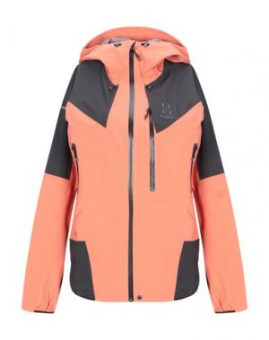Куртка HAGLÖFS. Цвет: лососево-розовый