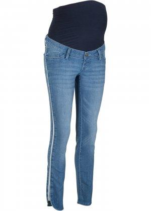 Платье джинсовое bonprix. Цвет: синий