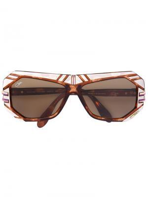 Солнцезащитные очки 868 Cazal. Цвет: коричневый