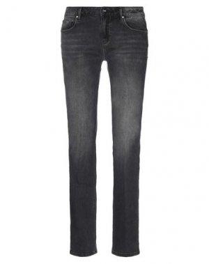 Джинсовые брюки FRACOMINA. Цвет: черный