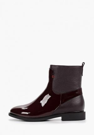 Ботинки Laura Valorosa. Цвет: бордовый