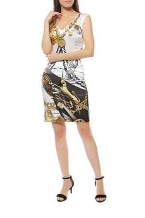 Платье Anna Rachele. Цвет: белый