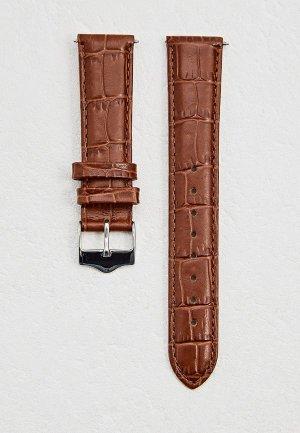 Ремешок для часов Signature. Цвет: коричневый