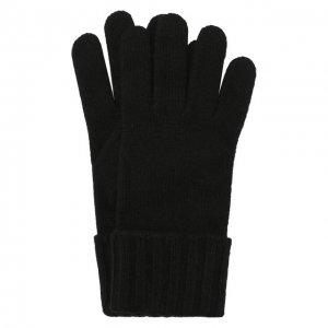 Перчатки из смеси шерсти и вискозы Inverni. Цвет: чёрный