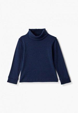 Термобелье верх Wool&Cotton. Цвет: синий