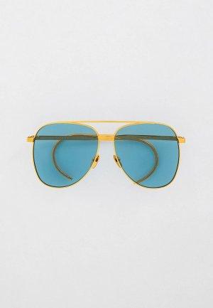 Очки солнцезащитные Gucci GG0953S. Цвет: золотой