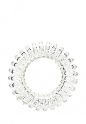 Комплект invisibobble POWER Crystal Clear. Цвет: белый
