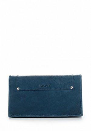 Портмоне DKNY. Цвет: синий