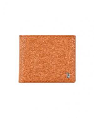 Бумажник TOD'S. Цвет: ржаво-коричневый
