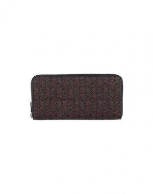 Бумажник MICHAEL KORS. Цвет: стальной серый