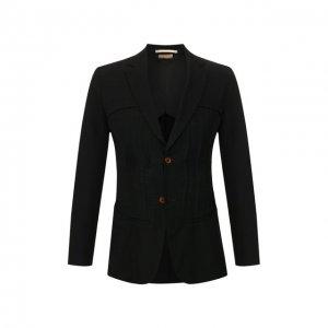 Пиджак Comme Des Garcons Homme Plus. Цвет: чёрный