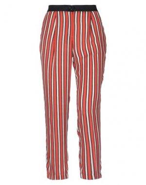 Повседневные брюки REBEL QUEEN by LIU •JO. Цвет: ржаво-коричневый
