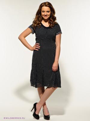 Платье Gelco. Цвет: черный