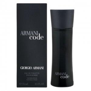 Туалетная вода Armani Black Code Giorgio. Цвет: бесцветный