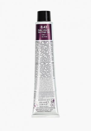 Краска для волос KayPro 6.43 CAVIAR SUPREME ТЕМНЫЙ МЕДНО-ЗОЛОТИСТЫЙ БЛОНДИН, 100 мл. Цвет: прозрачный