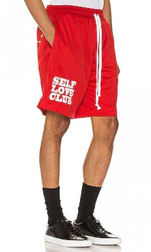 Баскетбольные шорты slc Lifted Anchors. Цвет: красный
