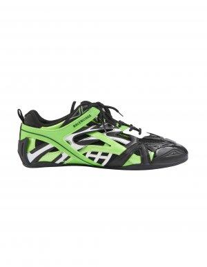Черно-зеленые кроссовки Drive Balenciaga
