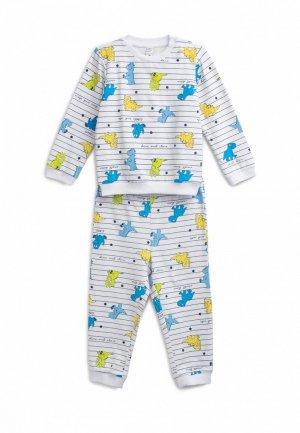 Пижама PlayToday. Цвет: белый