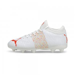 Детские бутсы FUTURE Z 4.1 FG/AG Youth Football Boots PUMA. Цвет: белый