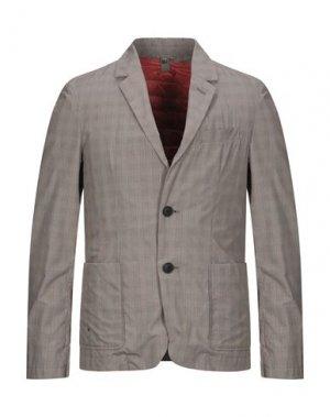 Пиджак ADD. Цвет: голубиный серый