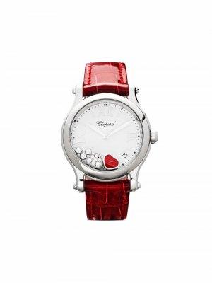 Наручные часы Happy Hearts 36 мм Chopard. Цвет: белый