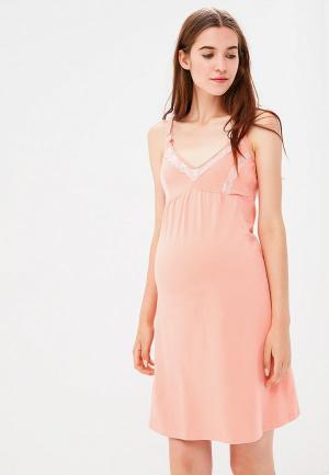 Сорочка ночная Fest. Цвет: розовый