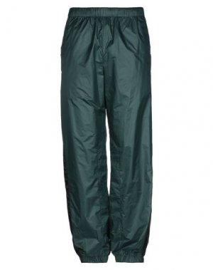 Повседневные брюки ACNE STUDIOS. Цвет: темно-зеленый