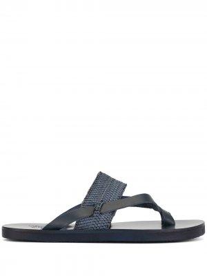 Сандалии Zinon Ancient Greek Sandals. Цвет: синий