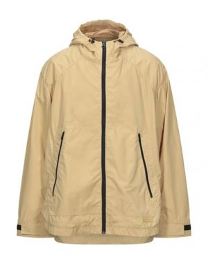 Куртка DUVETICA. Цвет: бежевый