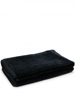 Полотенце в двух тонах BOSS. Цвет: синий