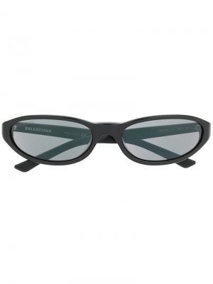 Neo sunglasses Balenciaga Eyewear. Цвет: черный